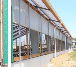 Side curtains for barns KOMFORT